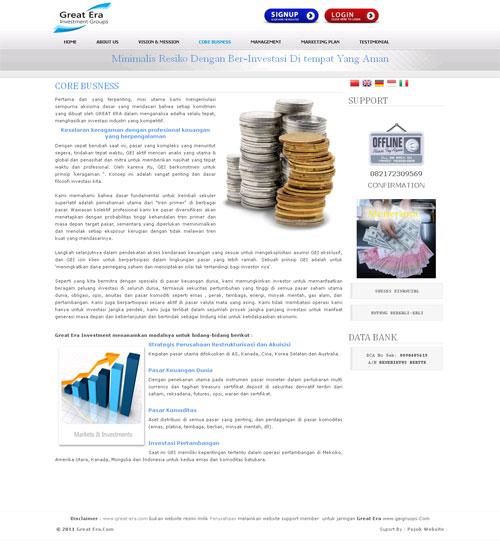 Great Era > Investasi Online Roi Harian