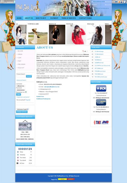 MALL BAJU KOREA – Pakaian Import Yang Trendy, Dinamis dan Modern