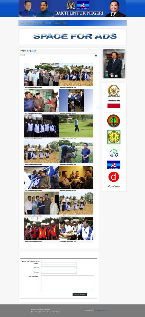 HermanKhaeiron.Info > Website Resmi Ir.H.E. Herman Khaeron M.Si