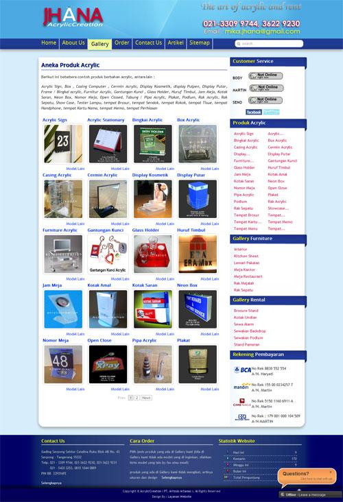 Pembuat Acrylic, Sewakan Podium dan Stand Pameran