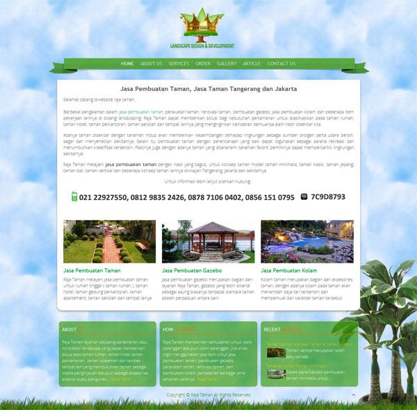 Pembuatan Taman dan Kolam untuk Rumah, Hotel, Perkantoran, Sekolah