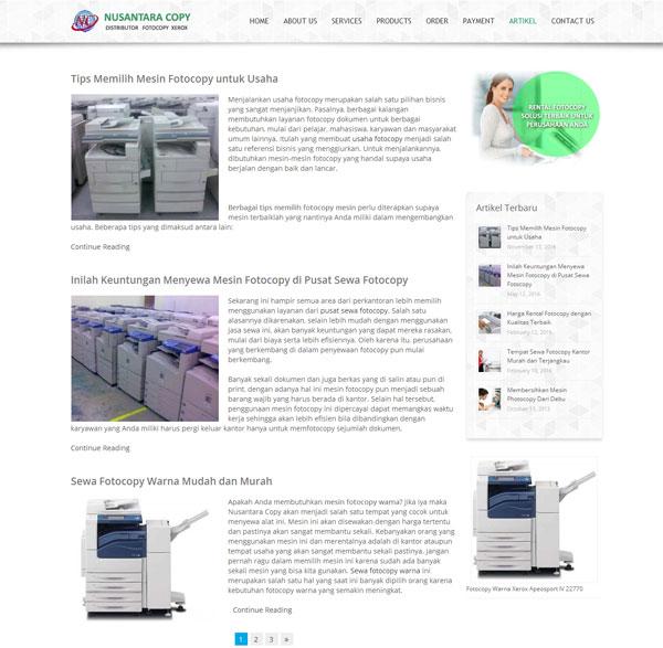 Distributor Fotocopy Xerox, Rental Fotocopy Harga Murah