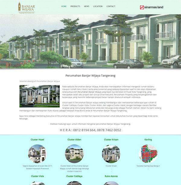 Rumah Terbaru dan Ruko Komersil di Perumahan Banjar Wijaya Tangerang