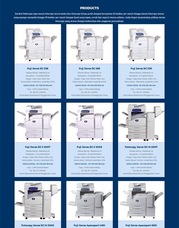 Supplier Mesin Fotocopy Xerox, Melayani Sewa Fotocopy Murah