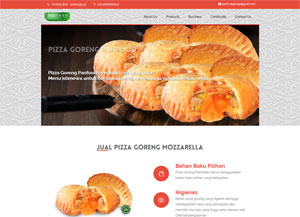 Produsen Pizza Goreng, Jual Grosiran Pizza Goreng Mozzarella