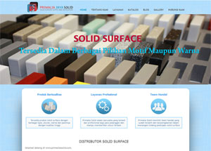 Distributor Solid Surface, Sedia Material Solid Surface Berkualitas